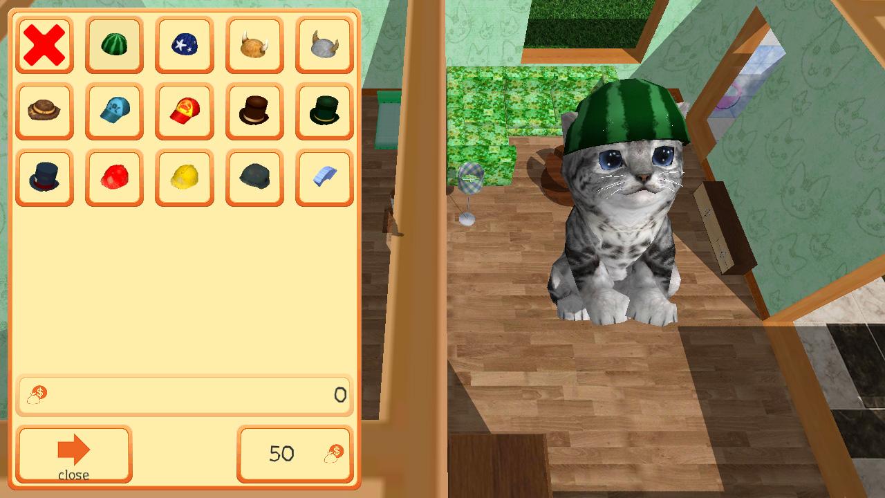 Cute Pocket Cat 3D – Part 2
