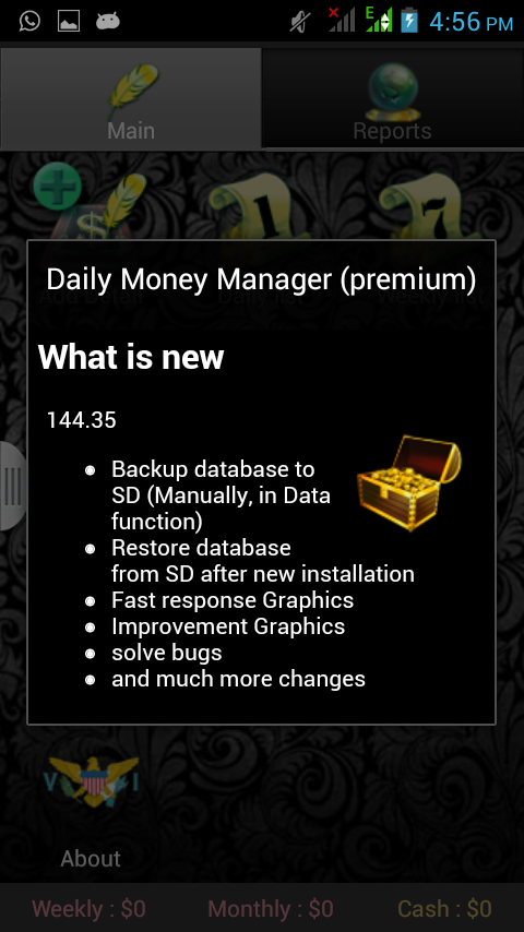 Daily Money Manager (premium)