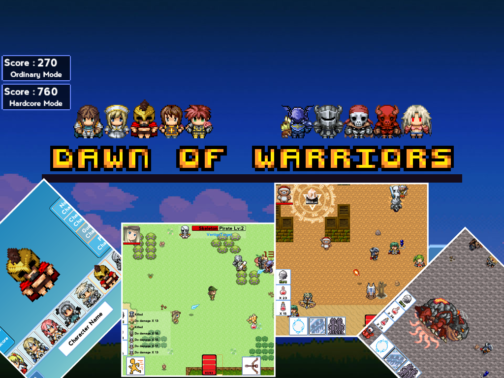 Dawn of Warriors — Free version