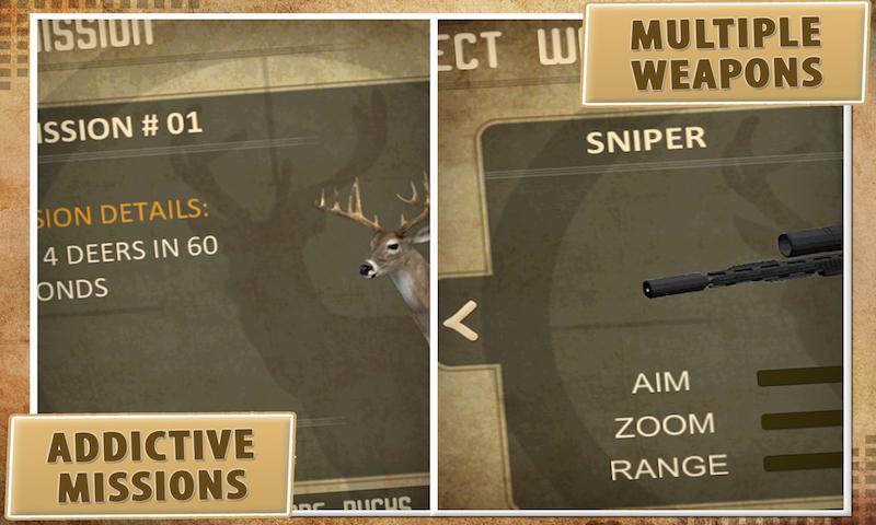 Deer Hunter: 3D Sniper Shooter