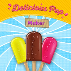 Delicious Pop Maker-Kids Chef