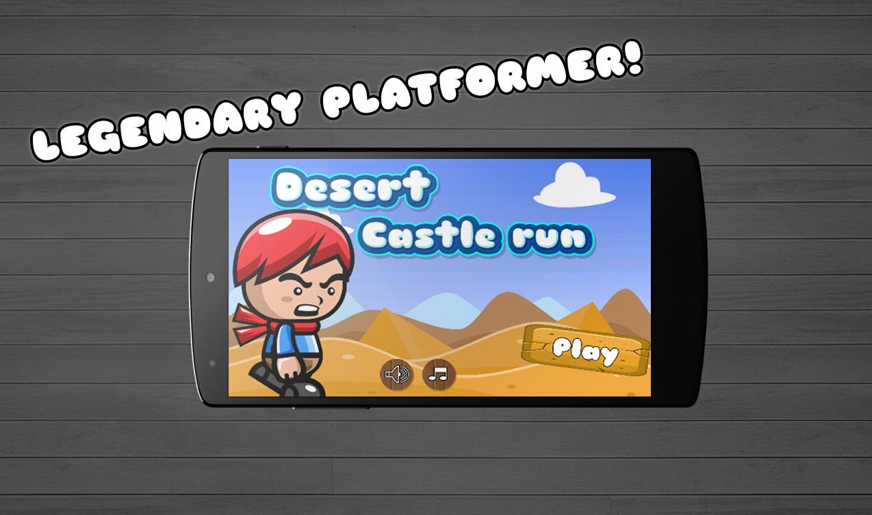 Desert Castle run