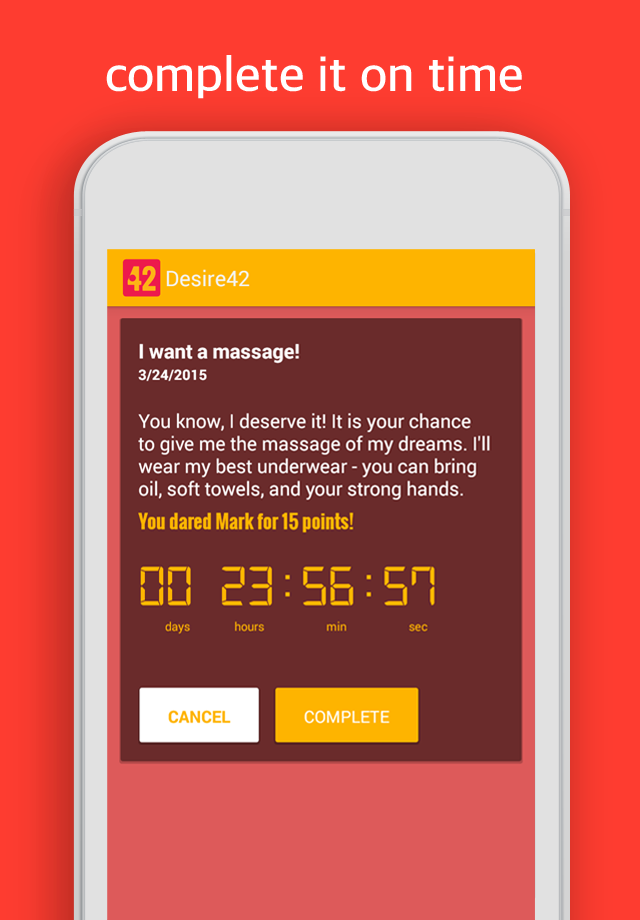 Desire42 – The app for couples