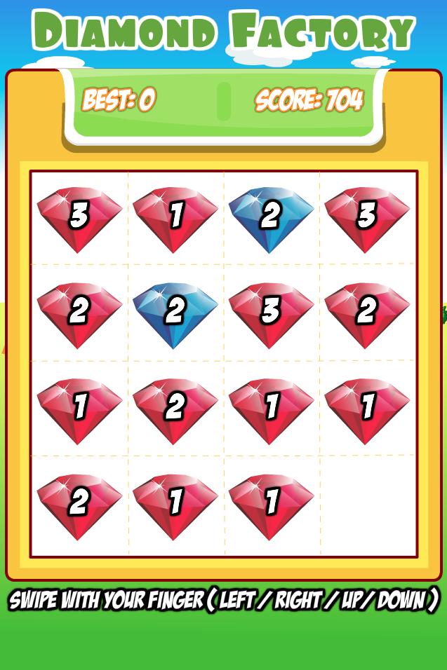 DIAMOND FACTORY – SUPER PUZZLE