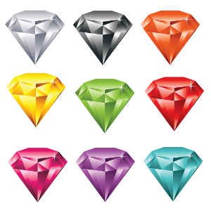 Diamond for dash