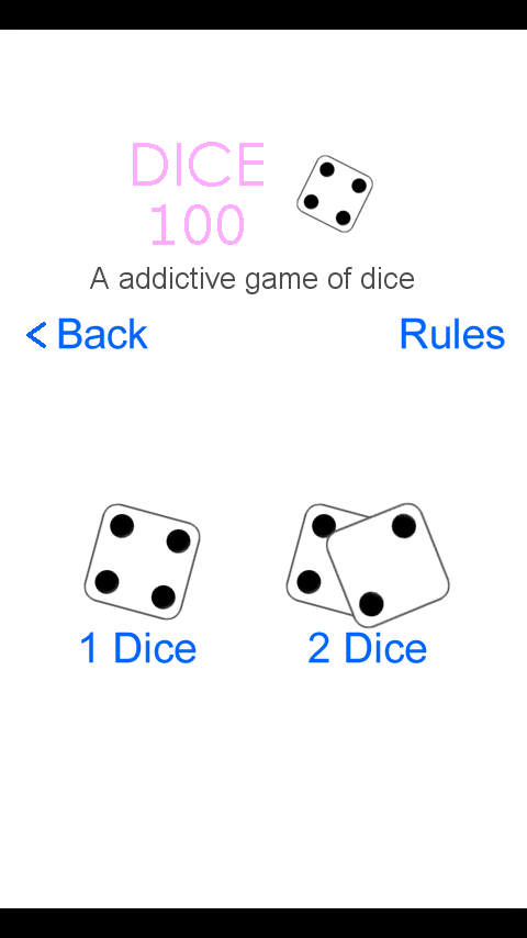 100 Dice Game