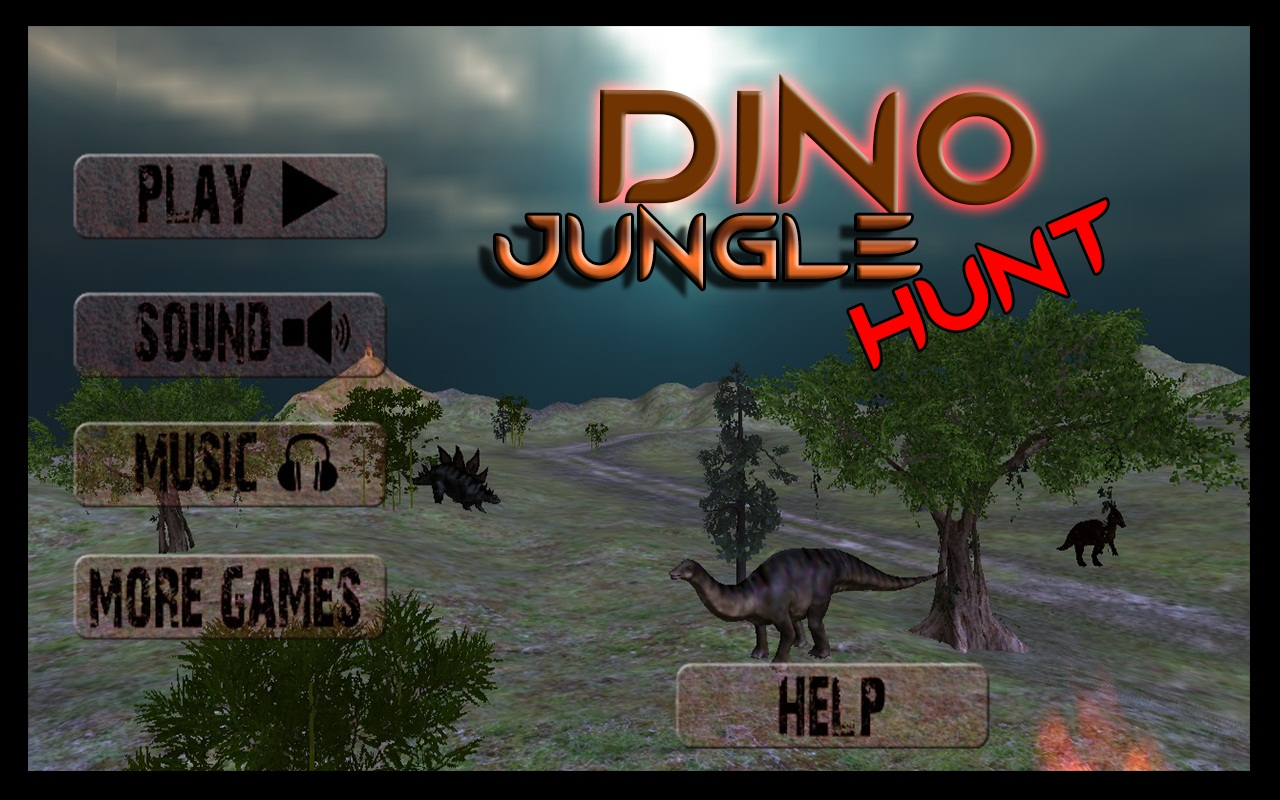 Dino Jungle Hunt