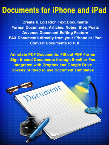 Documents – Word Processor and Reader for Microsoft Office