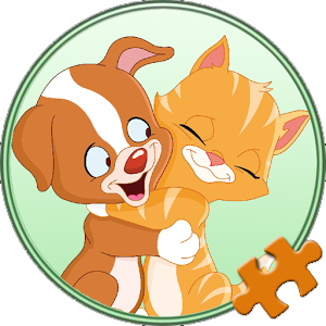 Dogs and cats Puzzles for kids