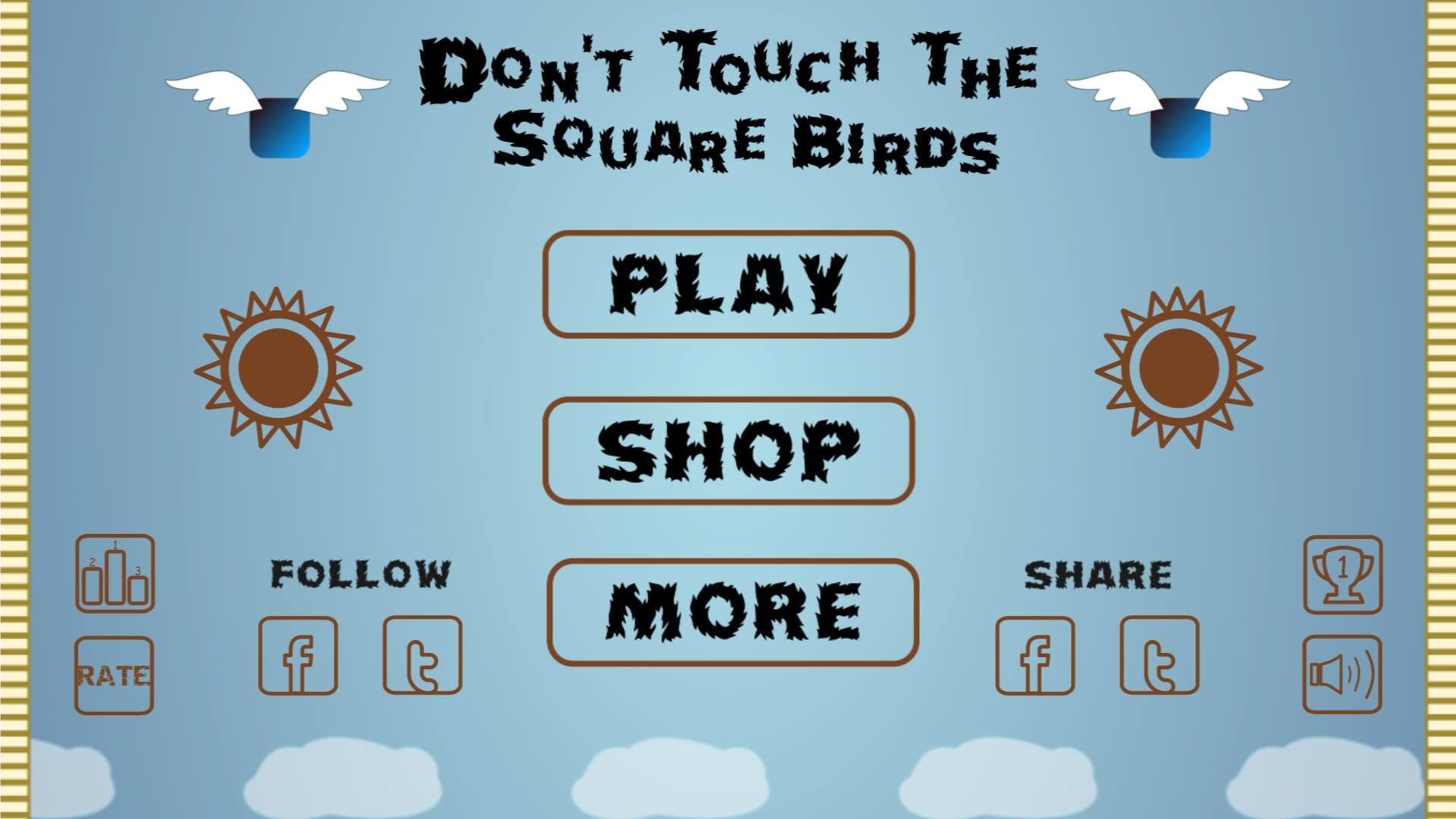 Don't Touch The Square Birds