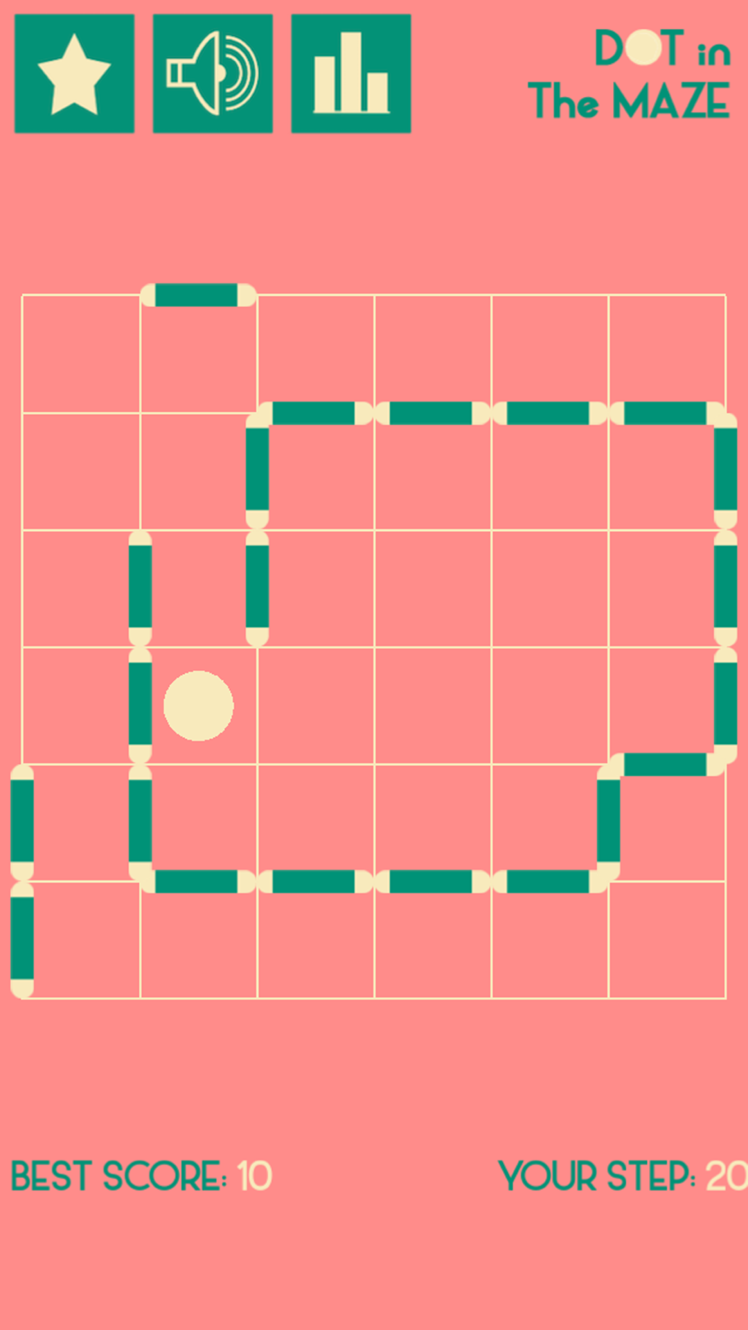 Dot In The Maze