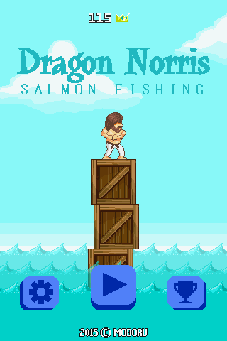 Dragon Norris Salmon Fishing