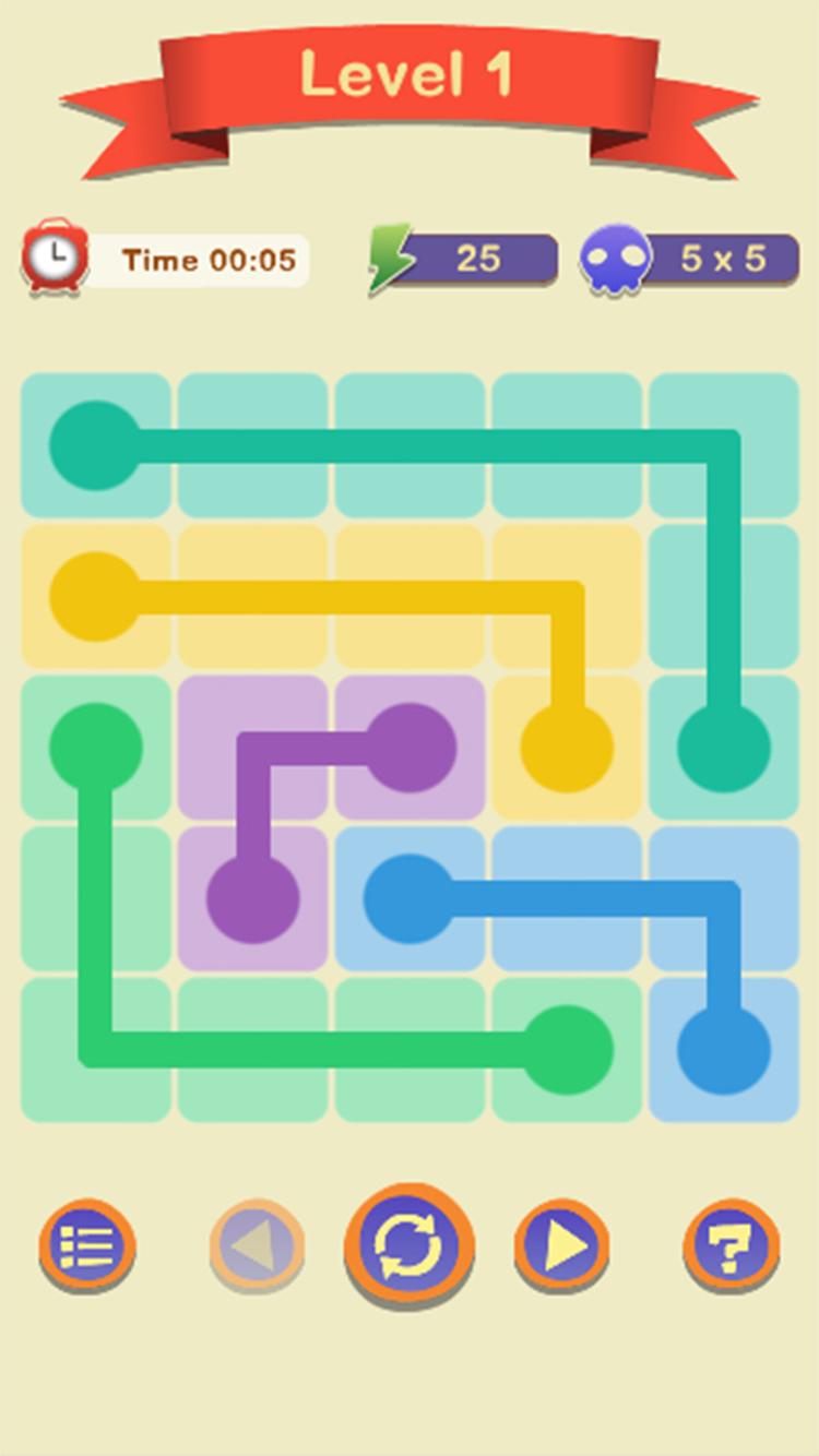 Draw Line : Free Flow