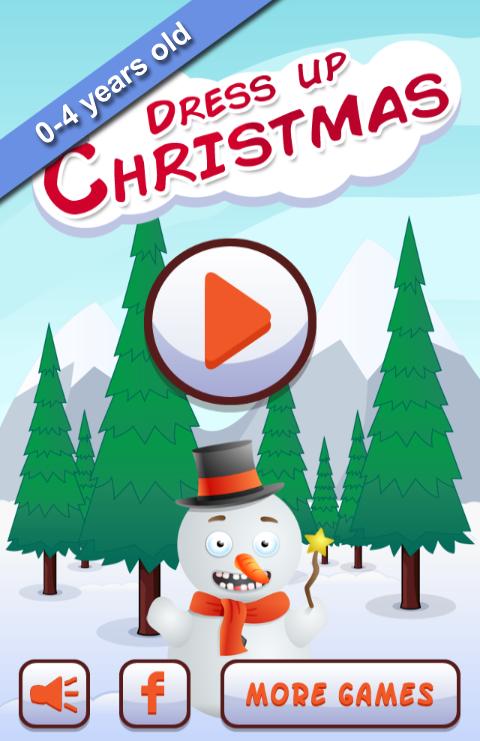 Dress up Christmas for kids