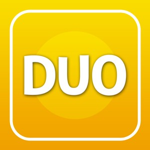 DUO! Simple Physics Brain Teaser Game for Kids from 5 to 95.