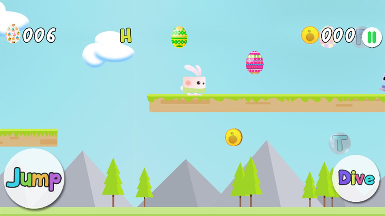 Easter Egg Bunny Runner
