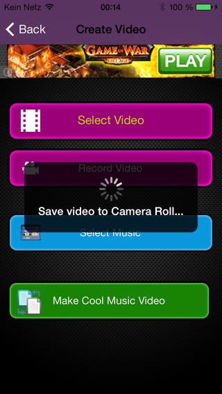 Easy Music Video Maker