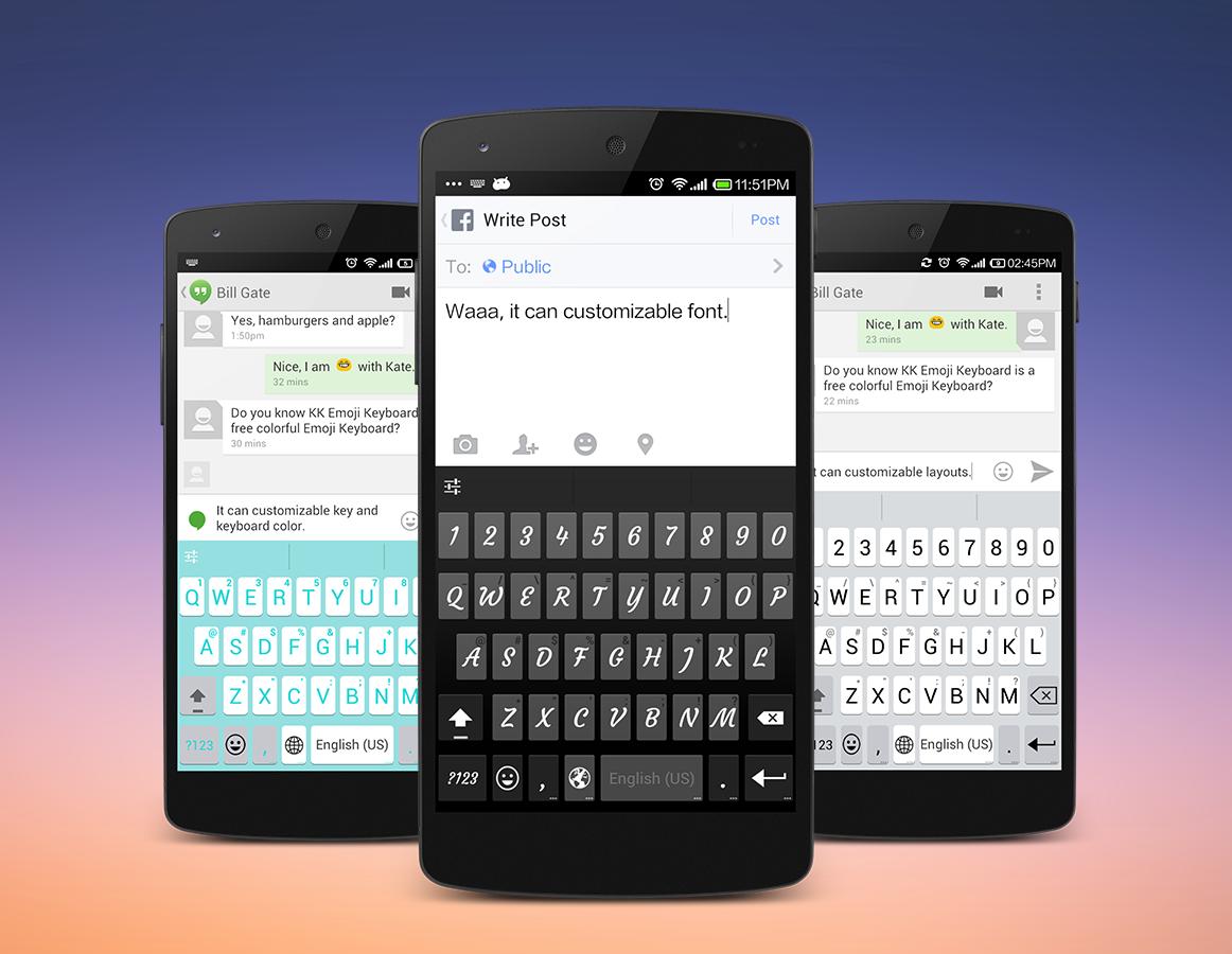 Emoji Keyboard – Emoticons(KK)
