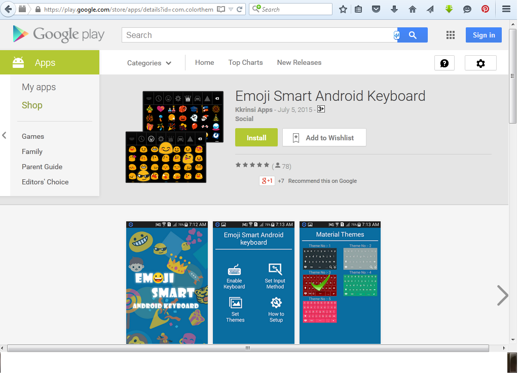Emoji Smart Android Keyboard