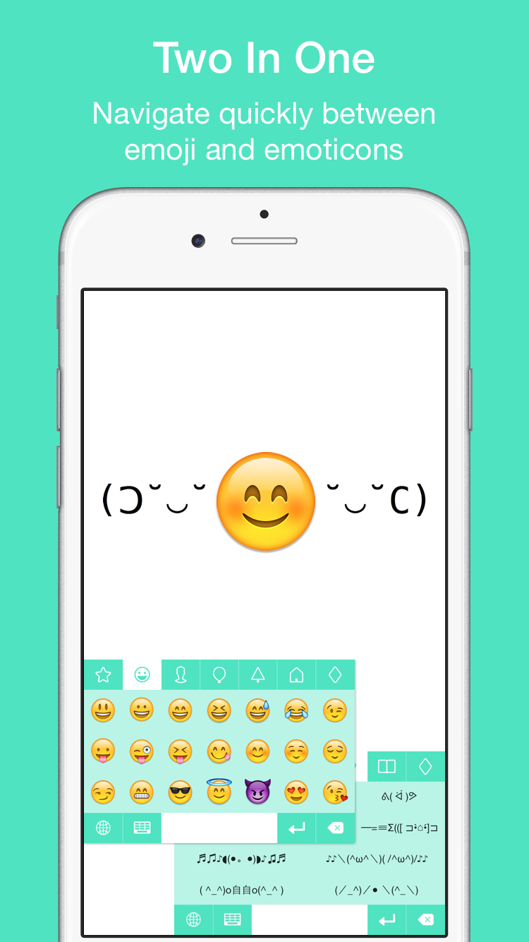 EmojiKey – Emoji Keyboard & Emoticons For iPhone & iOS 8 Plus Themes
