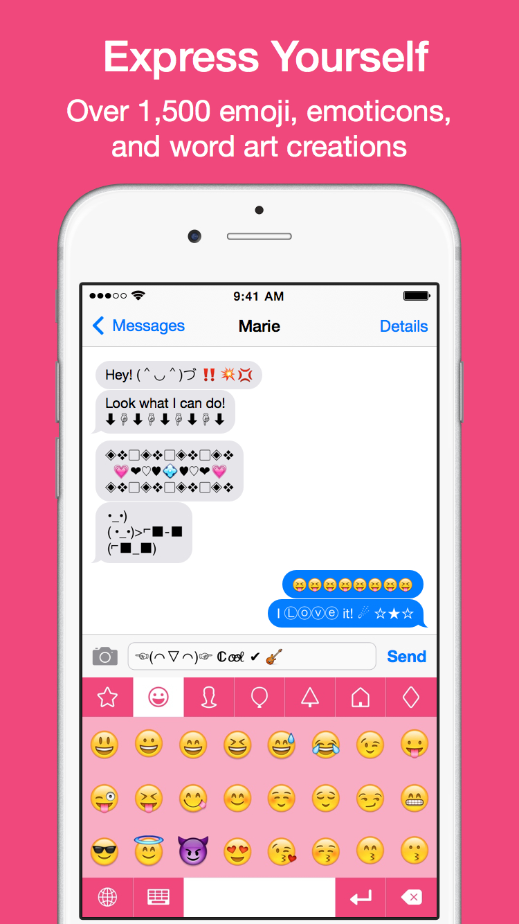 Emoji keyboard emoticons for iphone ios 8 plus themes emojikey emoji keyboard emoticons for iphone ios 8 plus themes biocorpaavc Choice Image