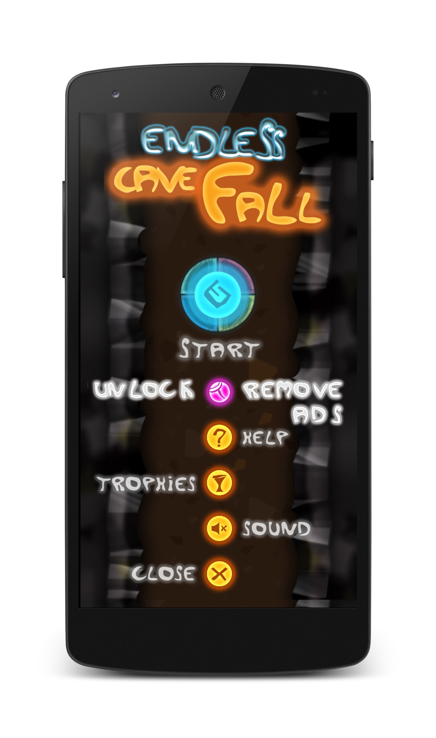 Endless Cave Fall