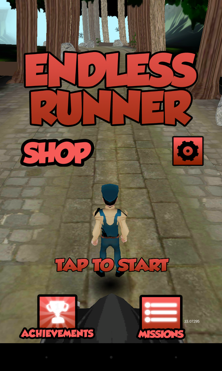 Endless Runner Postman