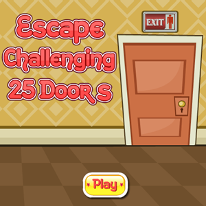 Escape Challenging 25 Doors