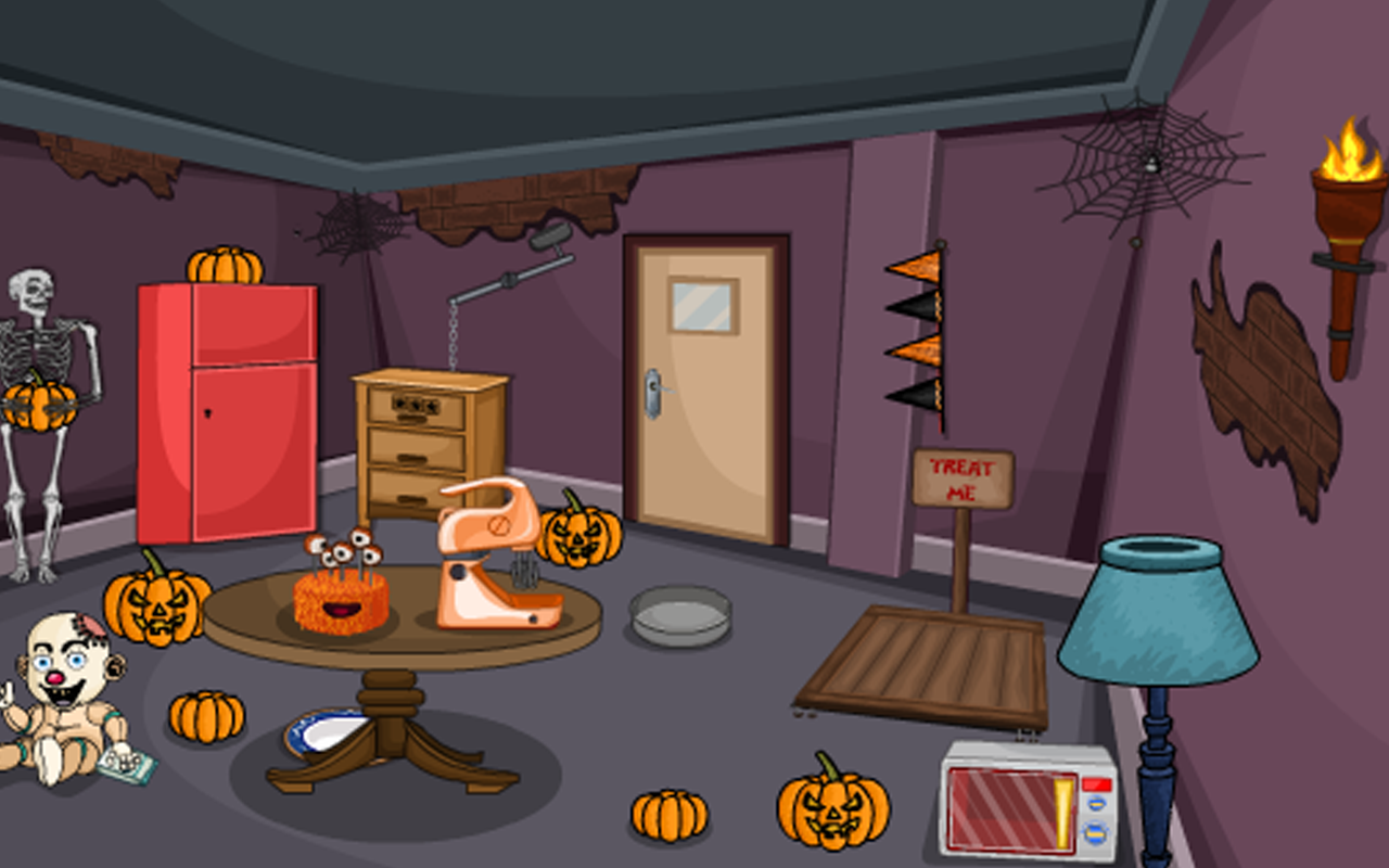 Escape Game-Halloween Trick