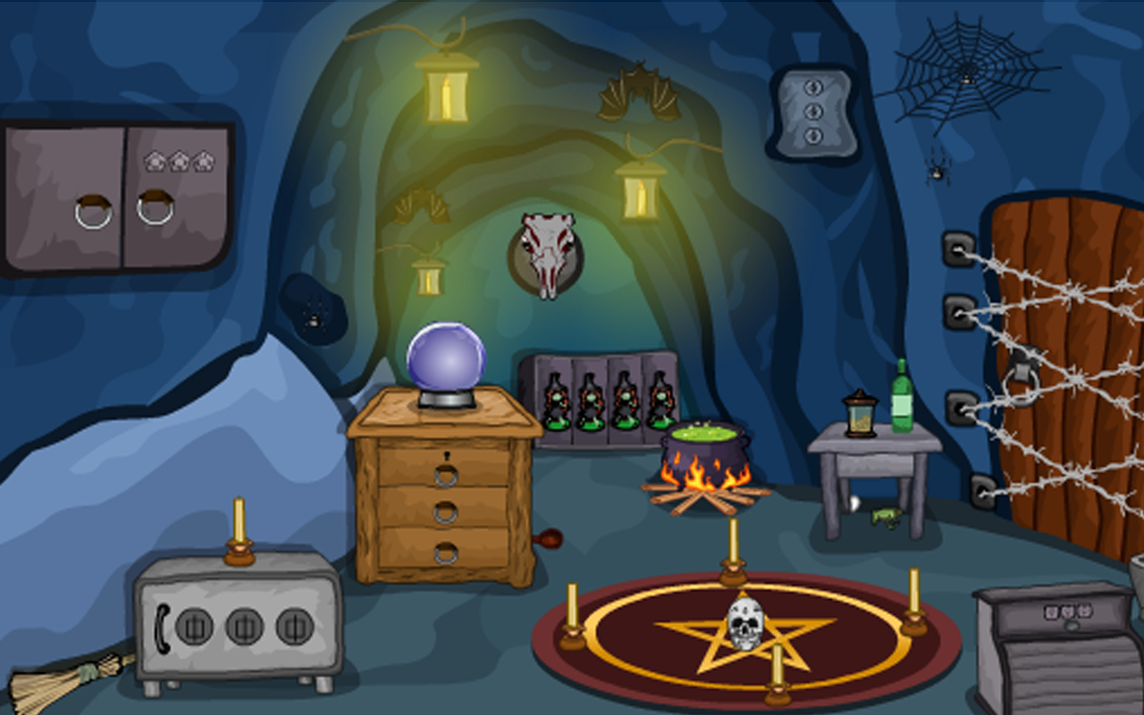 Escape Game-Witch Cave