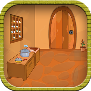 Escape Game-Wooden Dining Room