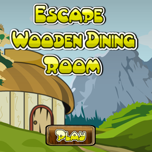 Escape Wooden Dining Room