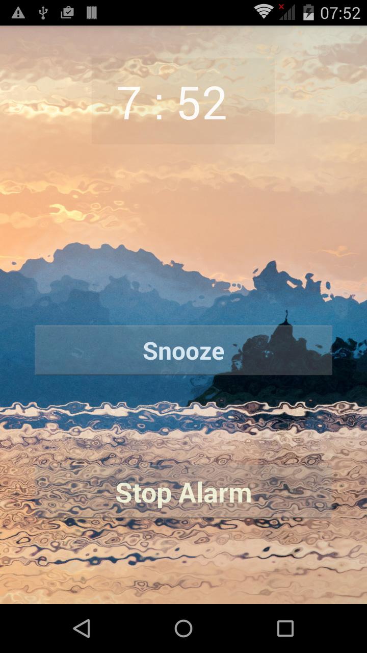 Exotic Alarm