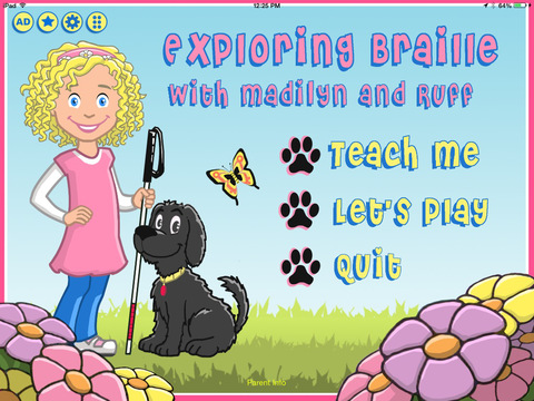 Exploring Braille with Madilyn and Ruff