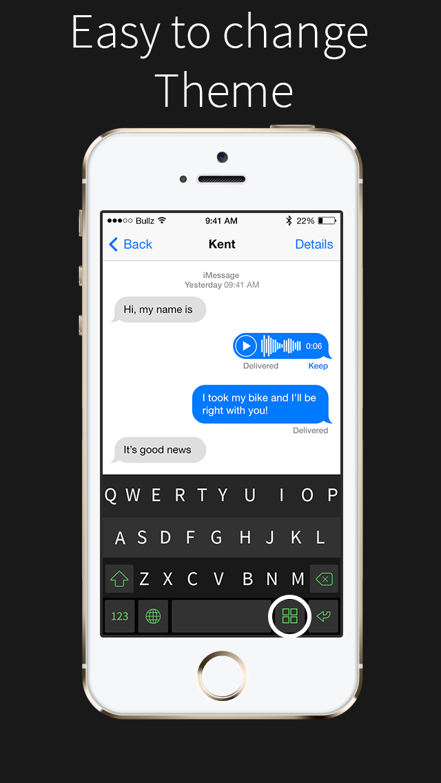 Fancy Keyboards for iOS 8!