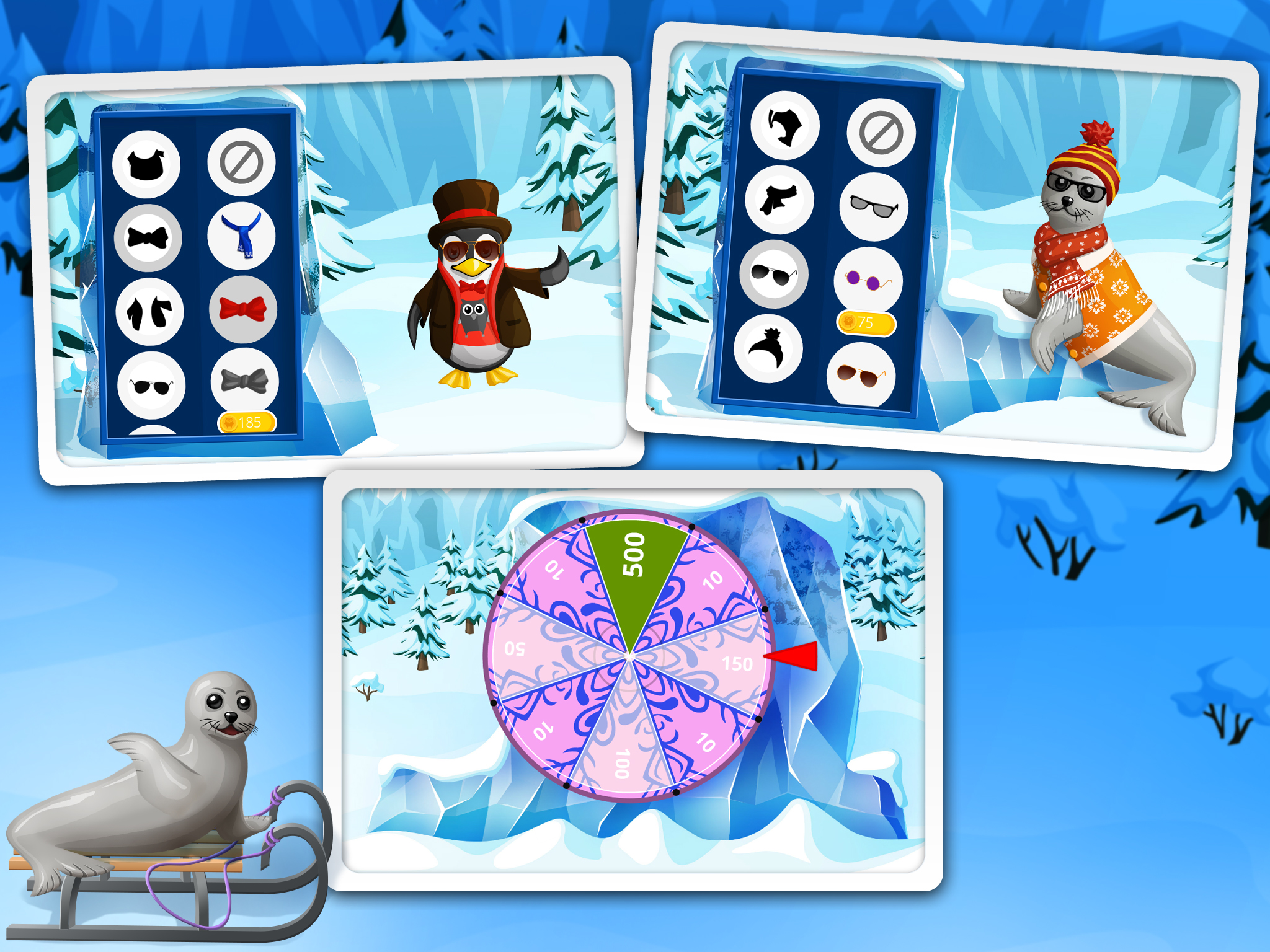 Far Far North – Winter Pets Playtime