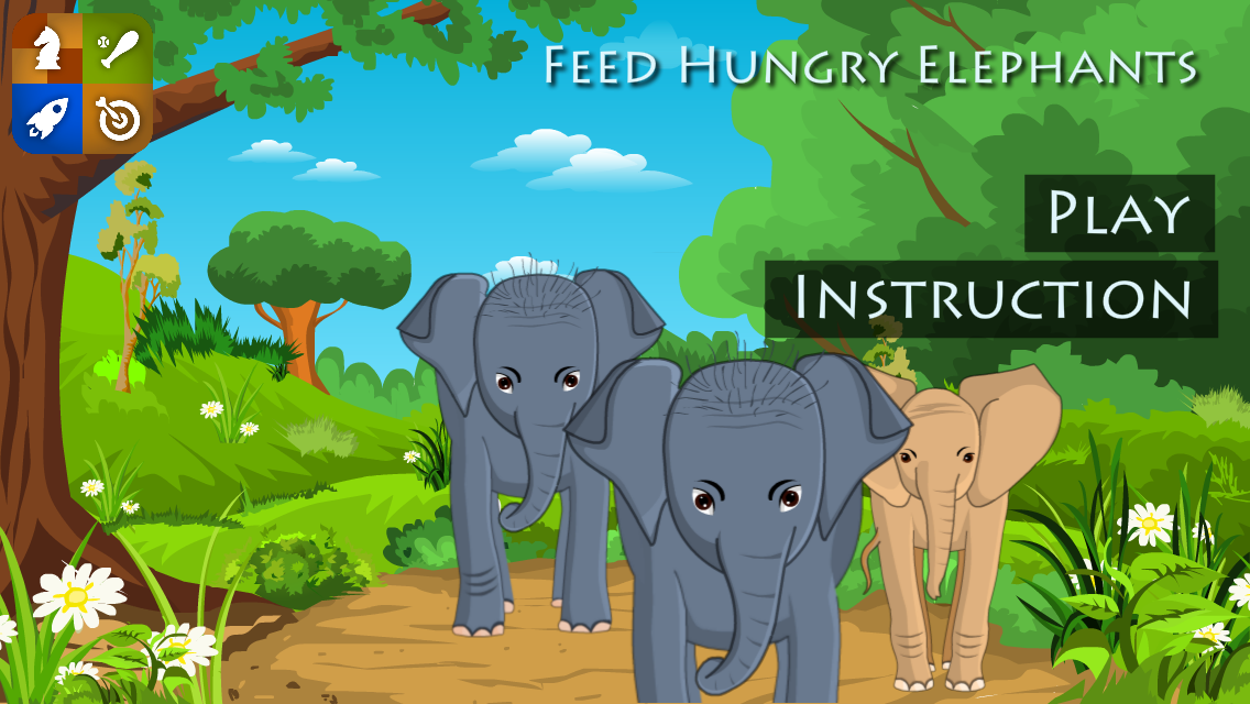Feed baby Elephants