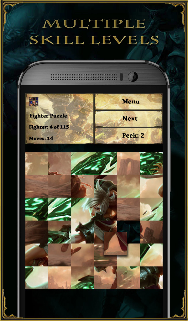 Fighter Puzzle (League of Legends)