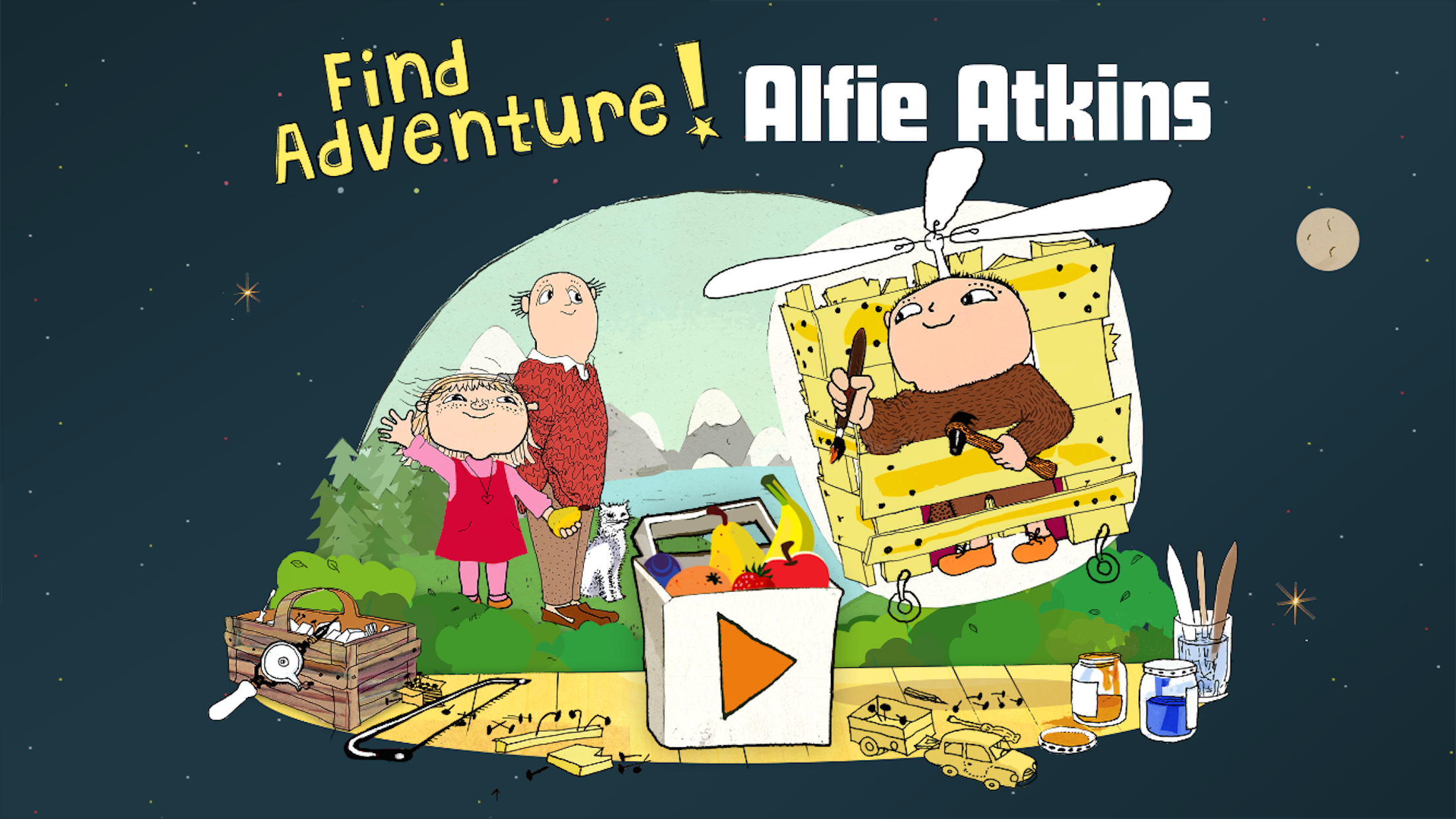 Find Adventure, Alfie Atkins