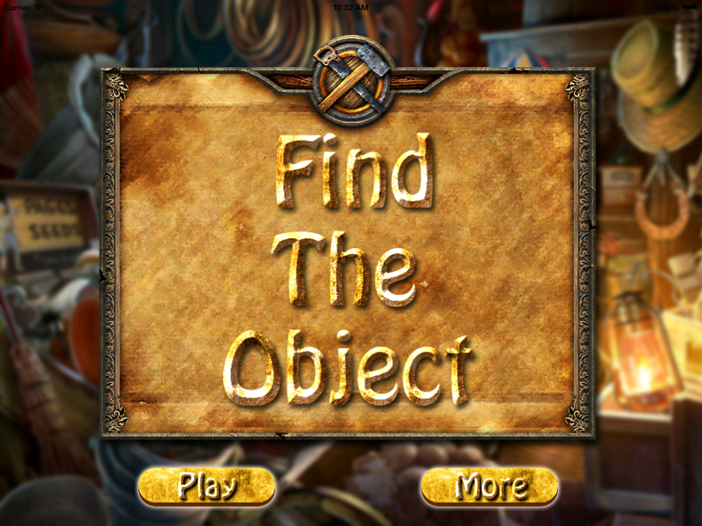 Find The Object -Hidden Object