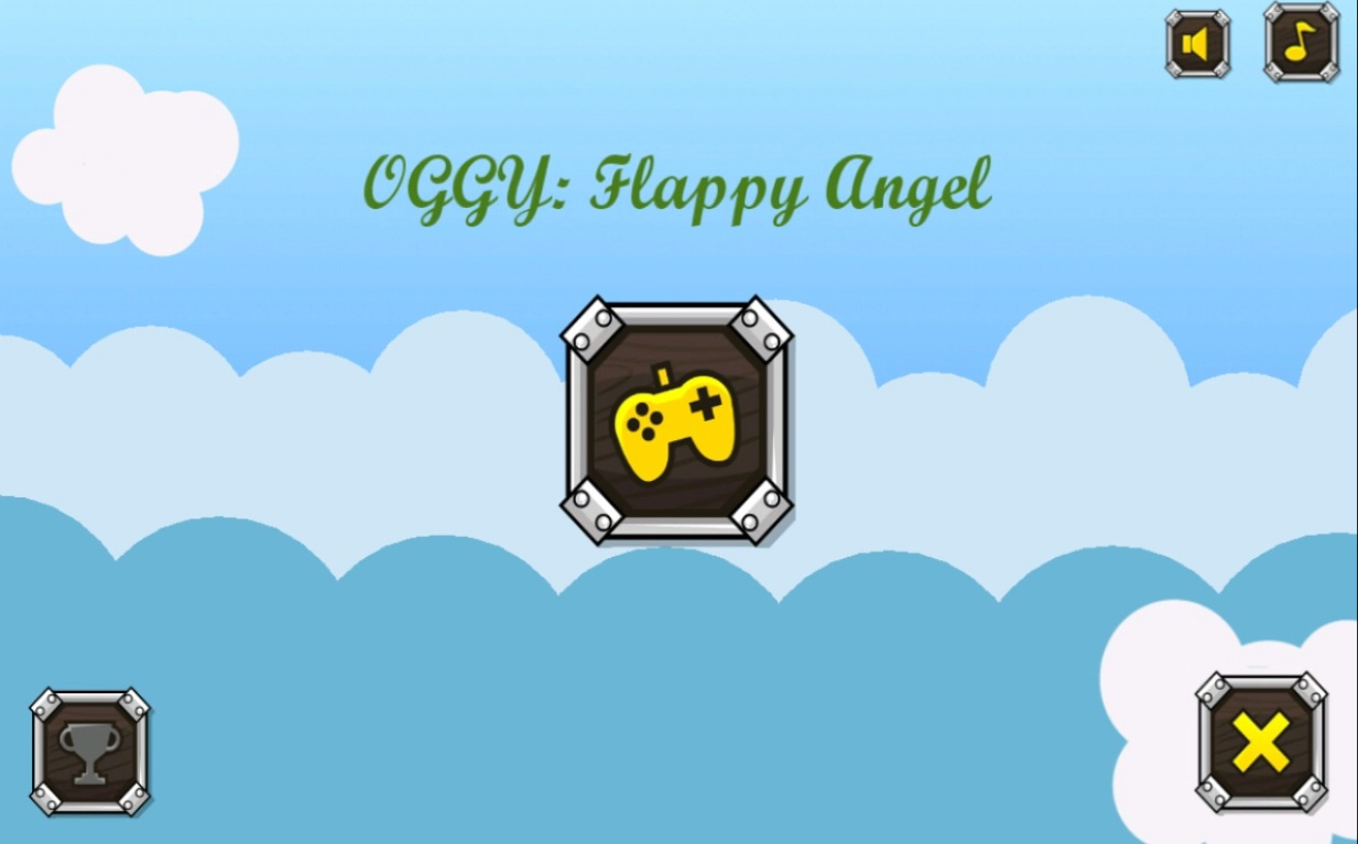 Flappy OGGY : Ange