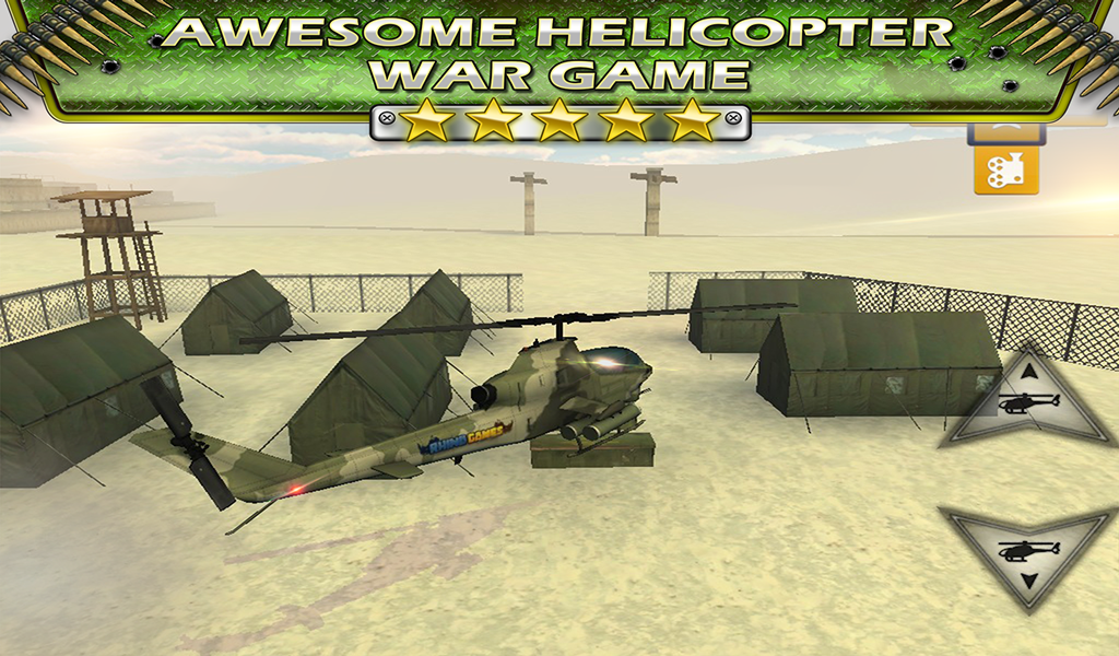 Fly Helicopter Battle Parking
