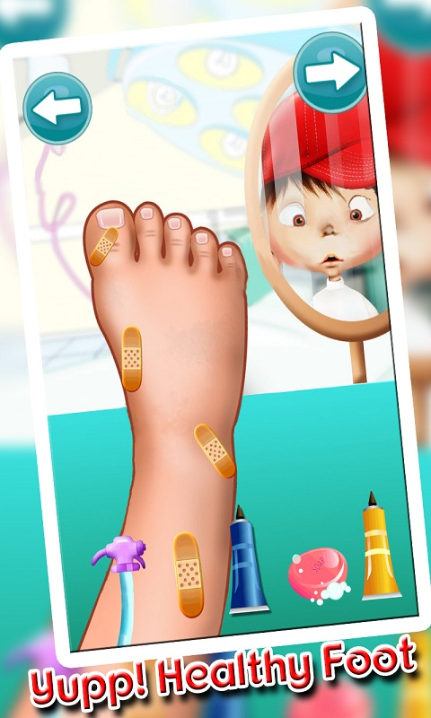 Foot Doctor Kids Casual Game