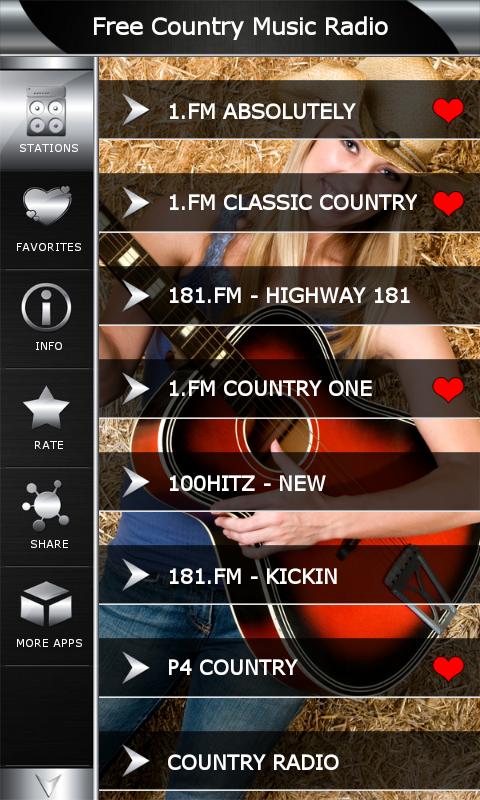 Free Country Music Radio