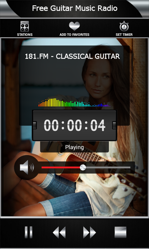 Free Guitar Music Radio