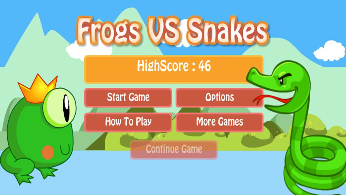 Frog vs snakes