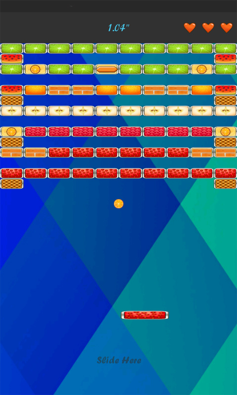 Fruits Bricks Breaker