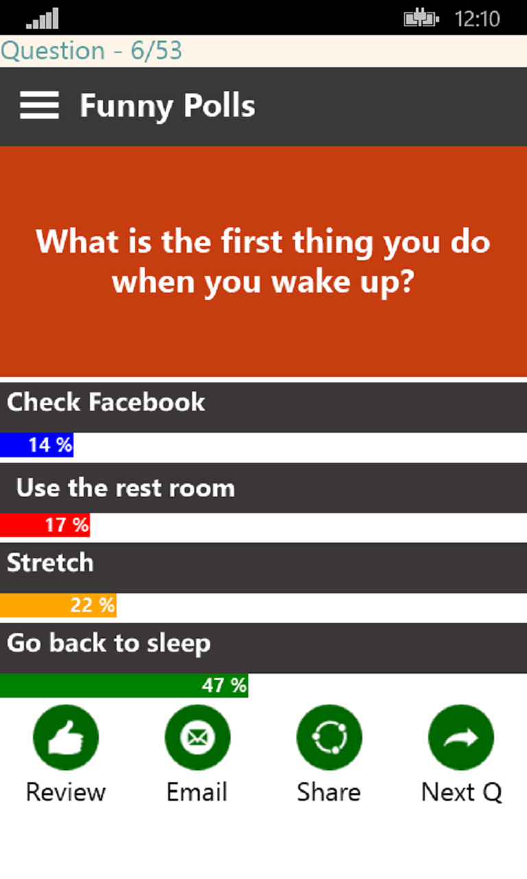 Funny Polls