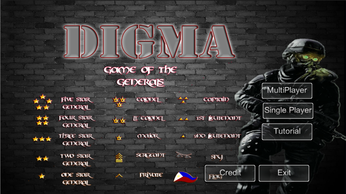 Game of the Generals Digma