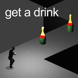 get a drink